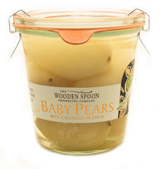 Baby Pears - With Calvados
