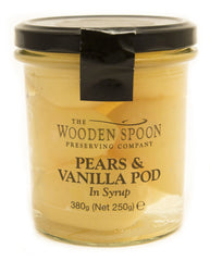 Pears & Vanilla Pod in Syrup- no alcohol