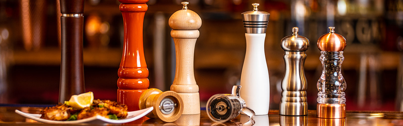 Wood Pepper Mills