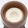04256 4 Inch Capstan Walnut Salt Shaker, Bottom View