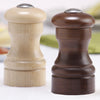 04256 4 Inch Capstan Shaker Set, Walnut & Natural, Table View
