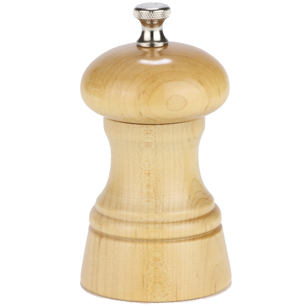 "Chef Specialties 4"" St. Paul Pepper Mill - Natural"
