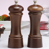 06102 6 Inch Elegance Pepper Mill & Salt Mill Set, Walnut, Table View