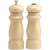 06200 6 Inch Salem Pepper Mill & Shaker Set, Natural