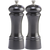 06602 6 Inch Elegance Pepper Mill & Salt Mill Set, Gunmetal Metallic