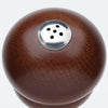 08155 8 Inch Windsor Spice Shaker, Walnut, Top View