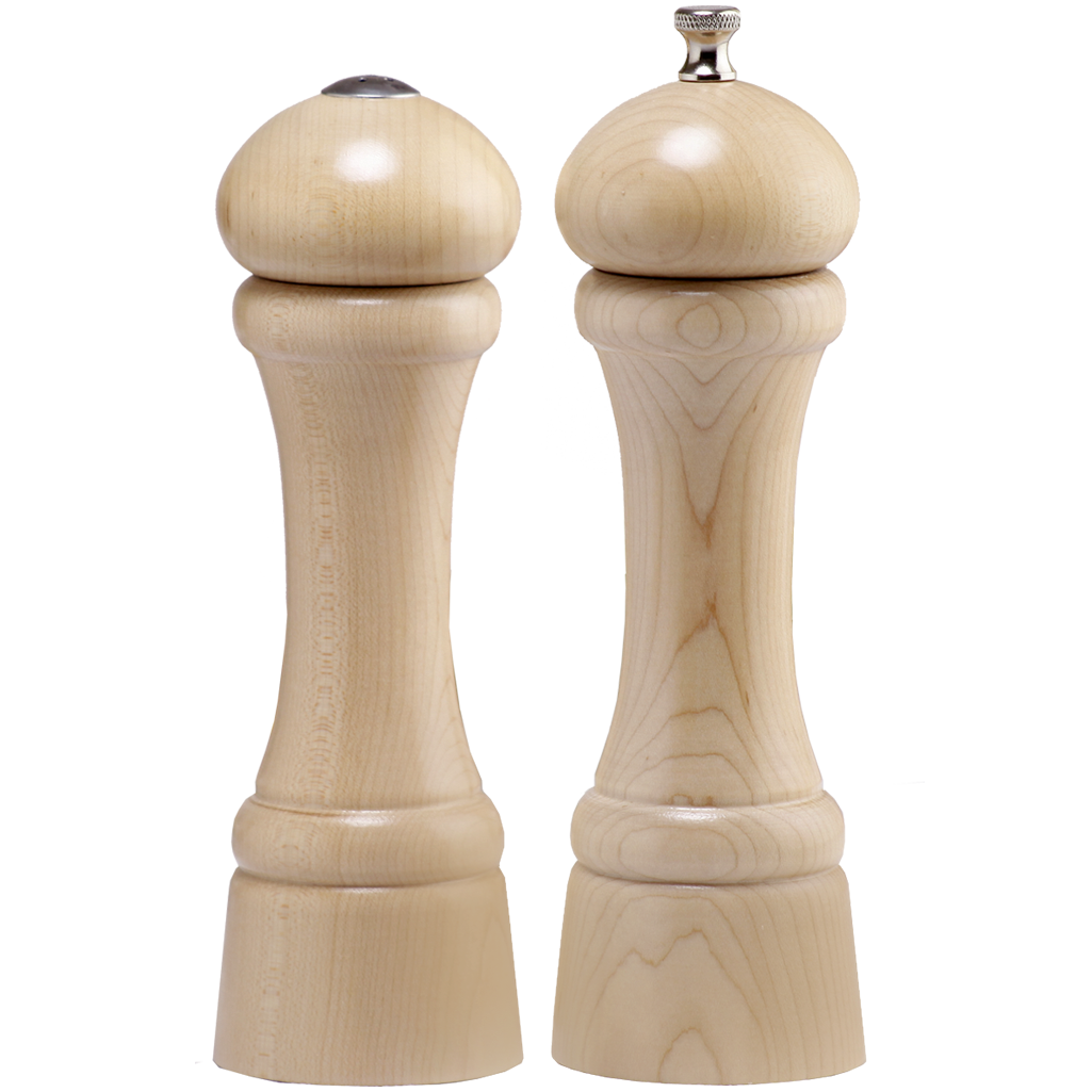 08200 Windsor Pepper Mill & Salt Shaker Set, Natural