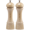 08202 8 Inch Windsor Pepper Mill & Salt Mill Set, Natural