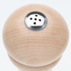 08355 08255 8 Inch Windsor Spice Shaker, Natural, Top View