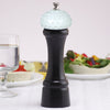 08510 8 Inch Pepper Mill with Black Finish and White Golf Ball Replica Resin Top, Table View