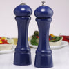 08700 8 Inch Windsor Pepper Mill & Salt Shaker Set, Blue, Table View