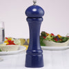 08752 8 Inch Windsor Salt Mill, Blue, Table View