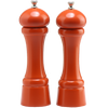 08902 8 Inch Windsor Pepper Mill & Salt Mill Set, Orange