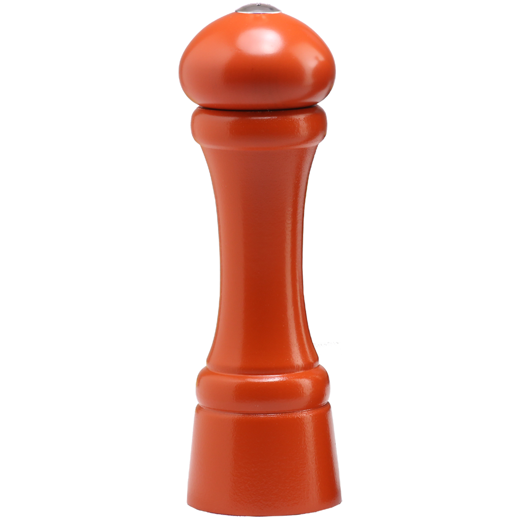 "Chef Specialties 8"" Windsor Spice Shaker - Orange"