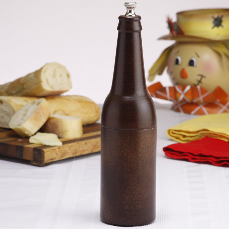 9.5 Inch Beer Bottle Pepper Mill