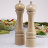 10202 10 Inch Pepper Mill & Salt Mill Set, Natural, Table View