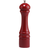 10651 10 Inch Pepper Mill with Red Finish