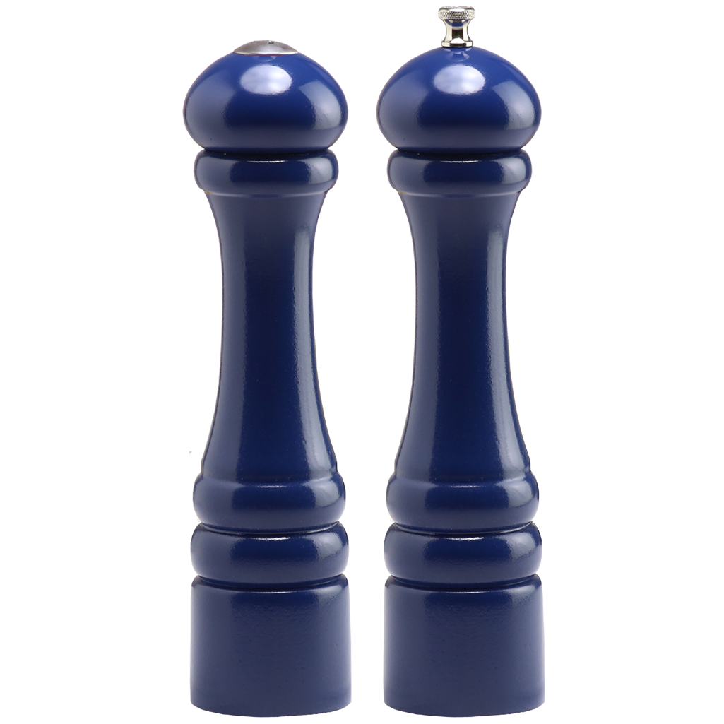 10700 10 Inch Imperial Pepper Mill & Salt Shaker Set, Blue