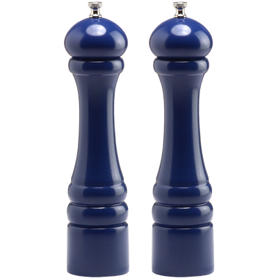 10702 10 Inch Pepper Mill & Salt Mill Set, Blue