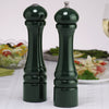 10800 10 Inch Pepper Mill & Salt Shaker Set, Green, Table View