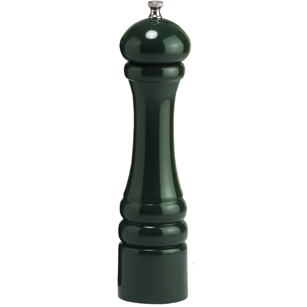 10851 10 Inch Pepper Mill with Green Finish