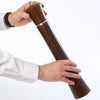 17880 17 Inch Pueblo Pepper Mill, Hand View