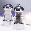 29160 5.5 Inch Lori Pepper Mill & Salt Shaker Set, Table View