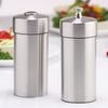 29900 5.5 Inch Futura Stainless Steel Pepper Mill & Shaker Set, Table View