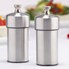 29910 4 Inch Futura Stainless Steel Pepper Mill & Salt Mill Set, Table View
