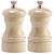 4 Inch Capstan Wood Pepper Mill and Salt Mill Set with Natural Finish 04502