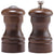 04100 4 Inch Capstan Pepper Mill and Salt Shaker Set with Walnut Finish