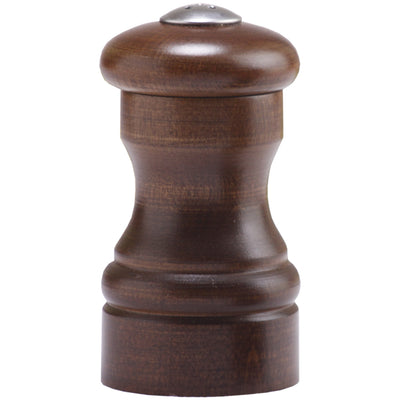 04155 4 Inch Capstan Shaker with Walnut Finish