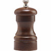 4 Inch Capstan Salt Mill with Walnut Finish