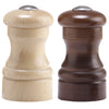 04256 4 Inch Capstan Walnut Pepper Shaker and Natural Salt Shaker Set