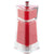4.5 Inch Red Acrylic Salt or Pepper Mill 29453