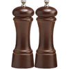 6 Inch Elegance Pepper Mill and Salt Mill Set with Walnut Finish 06102