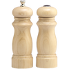 6000 6 Inch Salem Pepper Mill & Salt Shaker Set, Unfinished