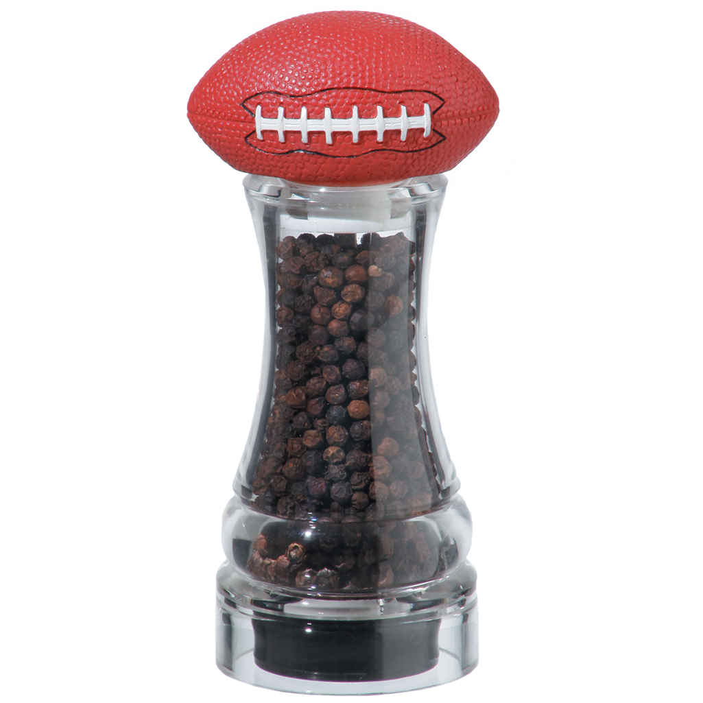 60050 6 Inch Football Pepper Mill