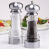 96856 7 Inch Lehigh Acrylic Pepper Mill & Salt Shaker Gift Set, Table View