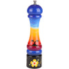 10 Inch Hand Painted Pepper Mill with Beach Theme, Back Side