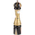 10 Inch Hand Painted Pepper Mill with Casino Theme