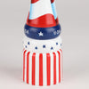 10 Inch Hand Painted Pepper Mill with American Flag Theme, Bottom View