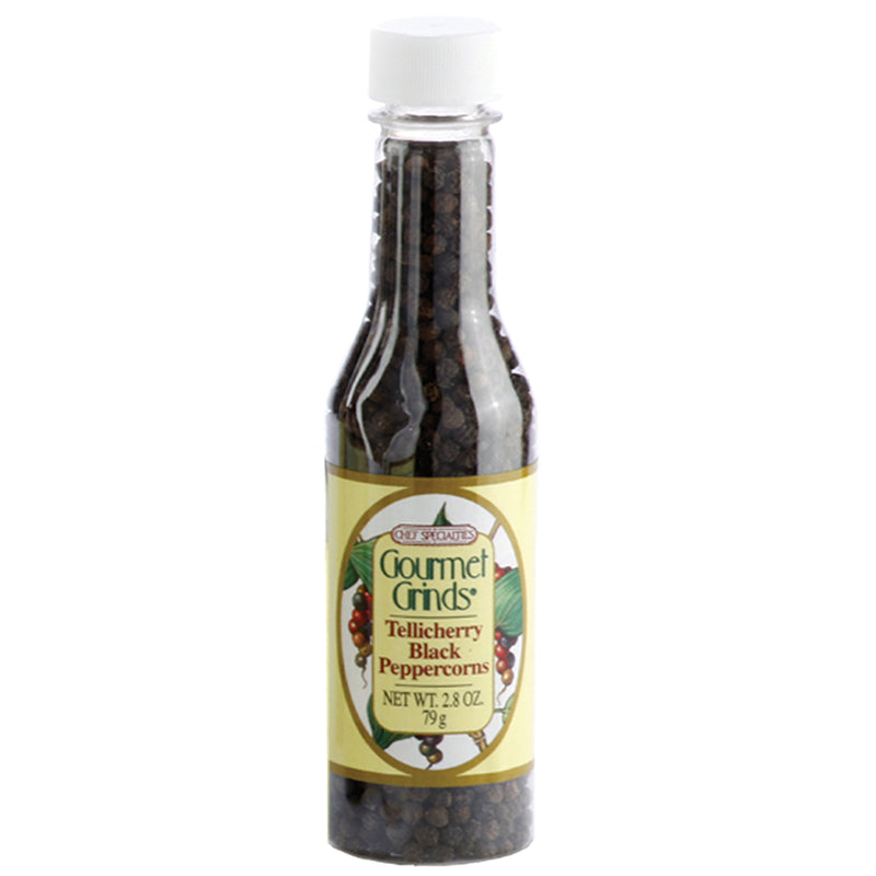 2.8 oz. Bottle of Tellicherry Pepper 00502