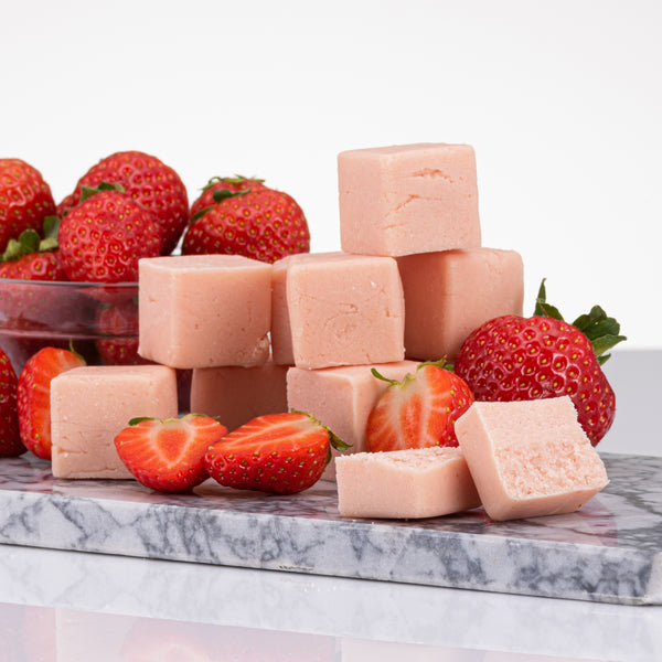 Strawberry Protein Pastillas (10 x 16g) - pastillas-uk