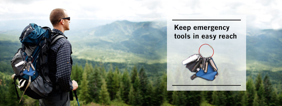 Keep emergency tools in easy reach