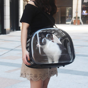 Full View Cat Side Carrier Bag - Idealpaws
