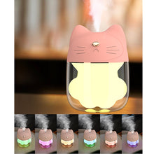 Load image into Gallery viewer, Mini Portable Cat USB Air Humidifier And  Aroma Diffuser - Idealpaws