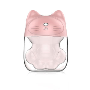 Mini Portable Cat USB Air Humidifier And  Aroma Diffuser - Idealpaws