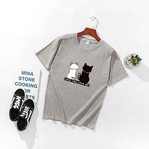 Love You, Love Me Casual T-Shirt - Idealpaws