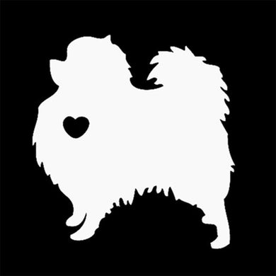 My Pomeranian Dog Car Sticker - Idealpaws